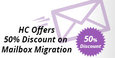 50% Discount on HC Mailbox Migration Tool
