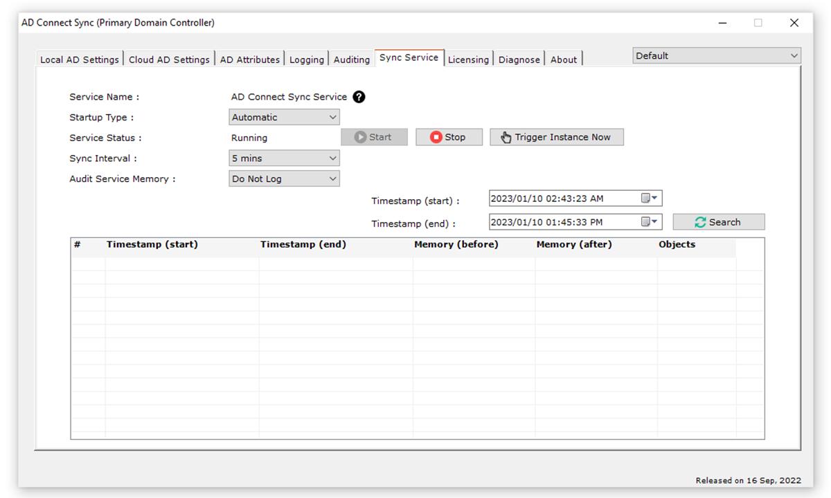 HC ADSync Tool - Active Directory Synchronization : AD Sync