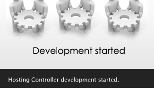 Hosting Controller Development Started