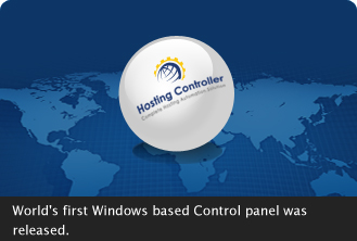 World's First Windows based Control Panel