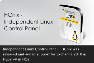 Independent Linux Control Panel - HCnix