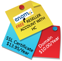 Free Enom Reseller Account