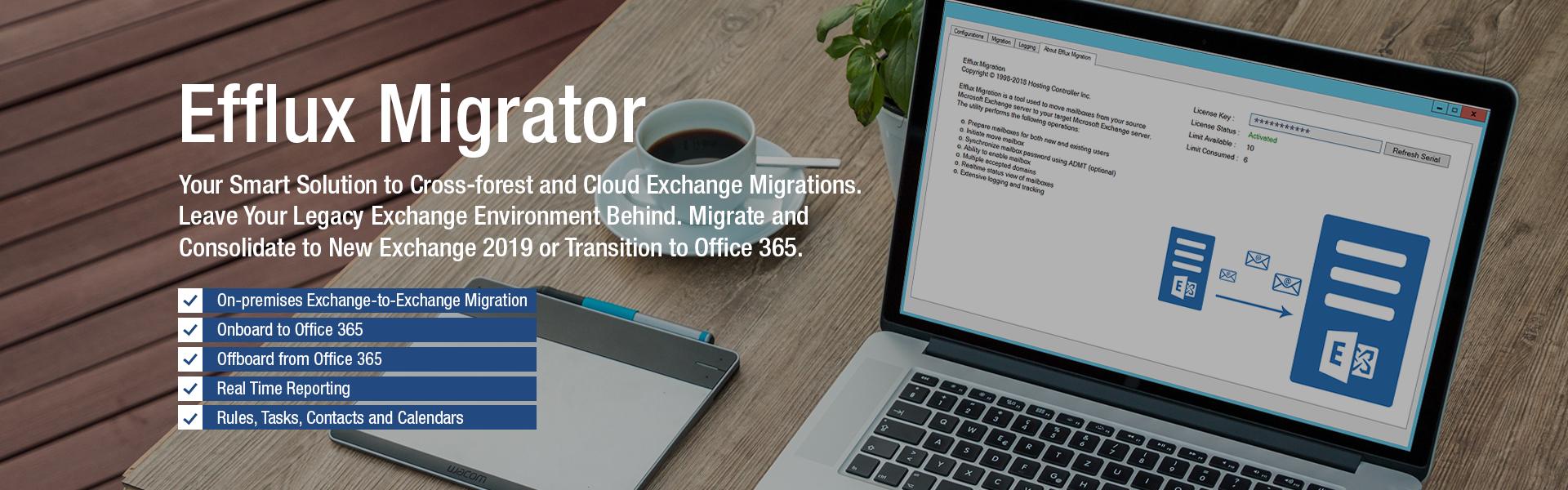 HC Efflux Migrator - Exchange Cross-forest Migration Tool | Office